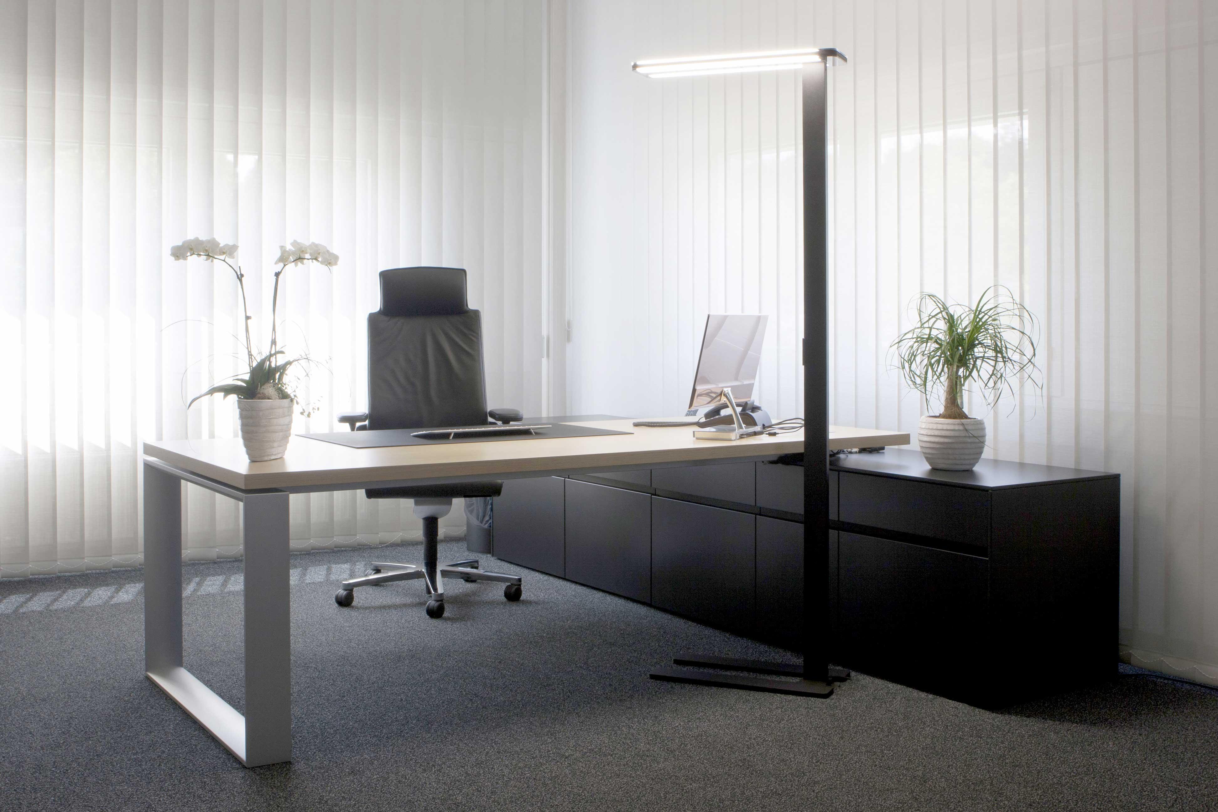 bdk luminaires lampadaire bureau administratif produits. Black Bedroom Furniture Sets. Home Design Ideas