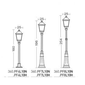 AUGUSTA LAMPADAIRE - LED