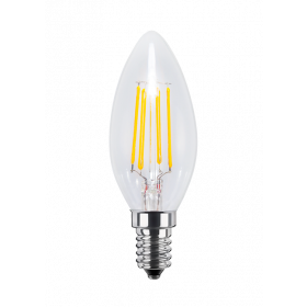 LED Candle clear
