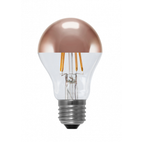 LED Bulb Mirror Head copper