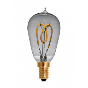 LED Tropfenlampe Curved clair