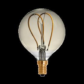 LED Globe 80 Curved golden