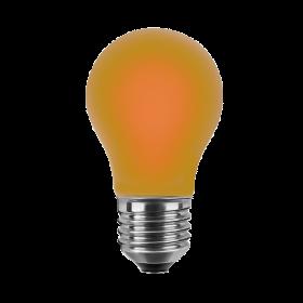 LED Bulb orange