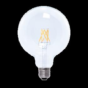 LED Globe 125 clear