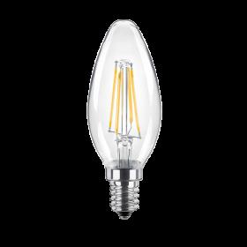LED Kerze clear
